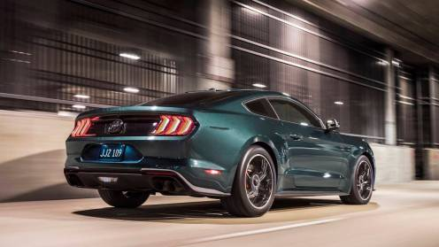 "Celebrating the 50th anniversary of iconic movie ""Bullitt"" and its fan-favorite San Francisco car chase, Ford introduces the new cool and powerful 2019 Mustang Bullitt."