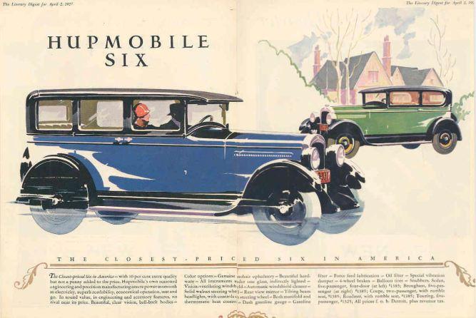 1927 Hupmobile Ad-02