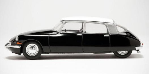 D4BEFY original citroen ds scale model retro iconic french motor car