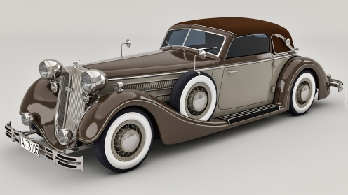 tapeta-zabytkowy-samochod-horch-853a-sport-cabrio-z-1937-roku